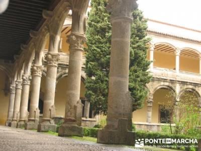 Monasterio de Yuste - Valle de la Vera - Carlos V; grupo montaña madrid